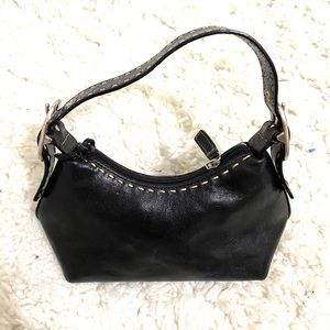 Contrast Stitch Mini Bag
